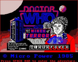 Doctor Who and the Mines of Terror